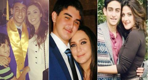 نجوم عرب في مقتبل العمر مع أبنائهم الرجال لن تصدق أنهم أنجبوهم