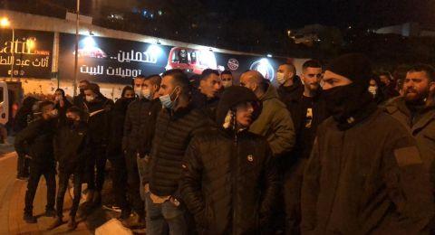 مباشر: قوات الشرطة تقوم بقمع مظاهرة منددة بالعنف، اعتقال عدد من المتظاهرين