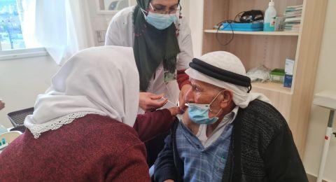 9.5% من الافراد في البلدات العربية تلقوا التطعيم والاعلى مقابل 24.8% على مستوى البلاد