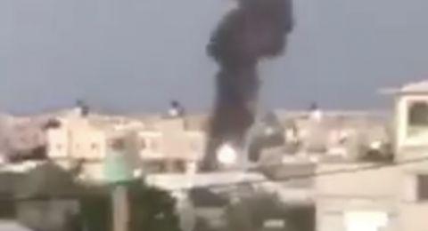 اسرائيل تقصف في قطاع غزة ردًا على اطلاق صواريخ!