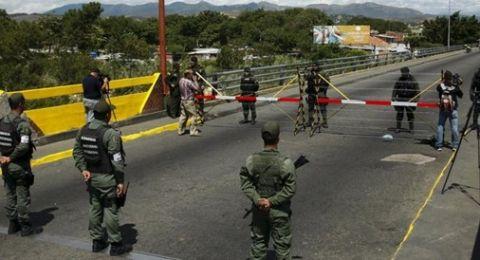 فنزويلا تعلن إغلاق ثلاثة جسور حدودية مع كولومبيا