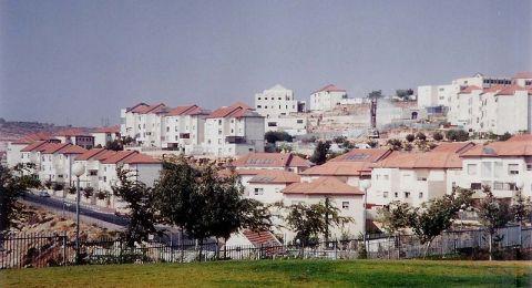 اسرائيل تستغل الانتخابات للاستيطان بالضفة