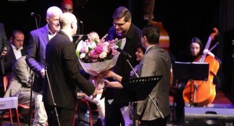 عرض بلدياتي لفرقة ترشيحا للموسيقى العربية دعمًا لإقامة وحدة السكتة الدماغية في مستشفى الناصرة- الإنجليزي