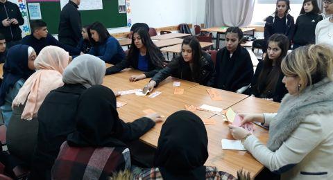 ثانوية خالد سليمان تحتفي بيوم اللغات وسط فقرات إبداعية