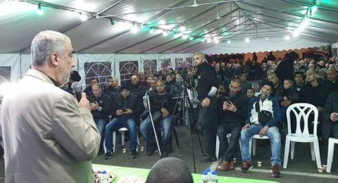 يافة: مشاركة واسعة في امسية لدعم بيارة عائلة دكة