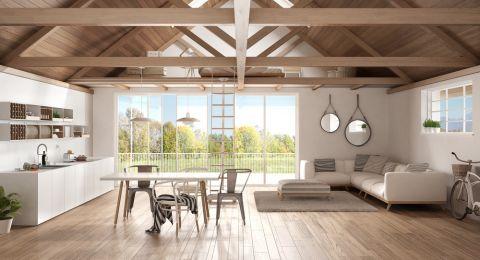منزلك أكثر سحراً مع الأسقف الخشبية!
