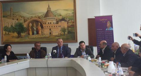 في اجتماع مغلق..علي سلام يجتمع بممثلي الاحزاب العربية الاربعة