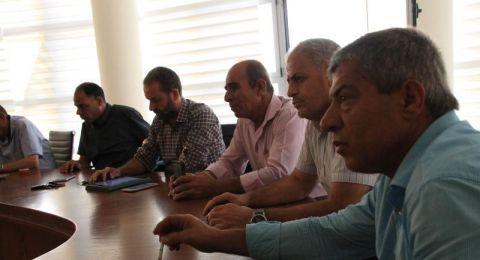 سخنين: اللجنة الشعبية والحراك الشبابي وإدارة البلدية يناقشون عدة قضايا هامة