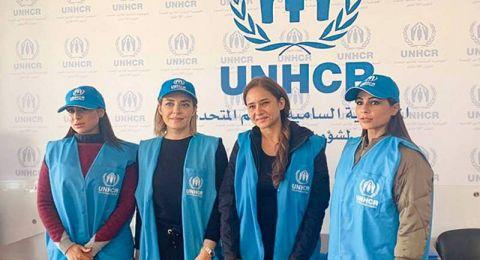 تحدّي السنة الجديدة يجمع 5 نجمات في مخيّمات اللاجئين