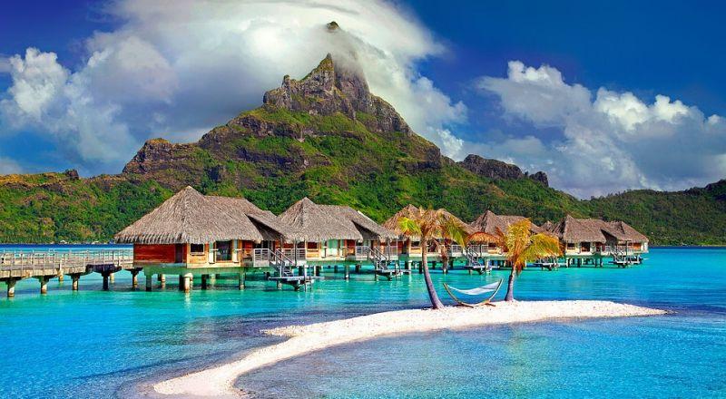 السياحة في الشتاء: السباحة في 3 جزر