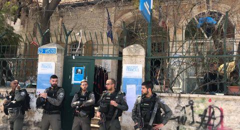 القدس : منع فعالية نسوية في يوم الام