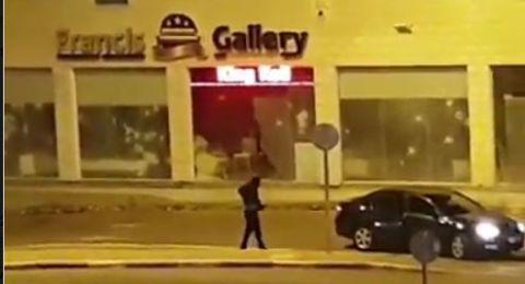 إطلاق نار على محل تجاري في دير حنا