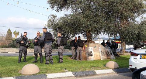 عرعرة: مظاهرة قطريّة مندّدة بسياسة الهدم
