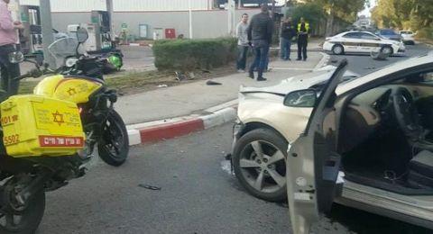 حيفا: إصابة شاب (30 عامًا) بجراح خطيرة في حادث طرق مروع