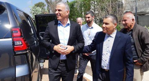 وزير المالية كحلون يزور المجلس الإقليمي بستان المرج