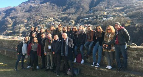 لقاء طلابي دولي للتعايش والتسامح برعاية نوادي روتاري الناصره - كومو ايطاليا