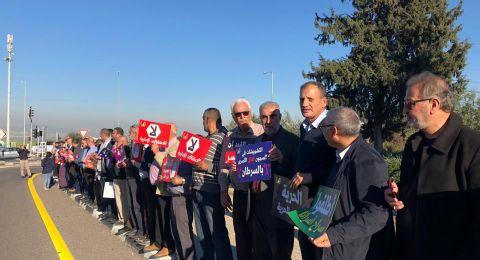 مجيدّو: وقفة تضامنيّة مع الأسرى امام السجن