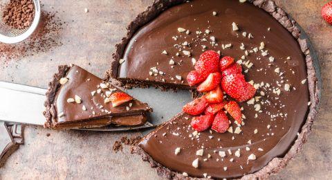 كعكة الشوكولاتة بالنوتيلا