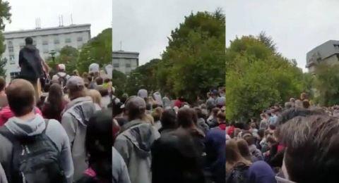 رفع الأذان في جامعة نيوزيلندية تعاطفا مع ذوي ضحايا المجزرة