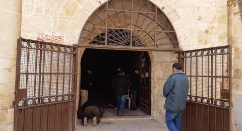 المحكمة  تُصدر قراراً بإغلاق مصلى باب الرحمة في المسجد الأقصى