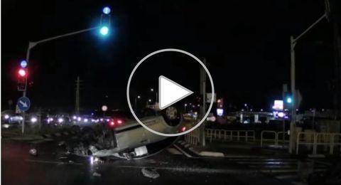 سائق من اللقية، حاول الهرب من الشرطة وهذا ما حدث..