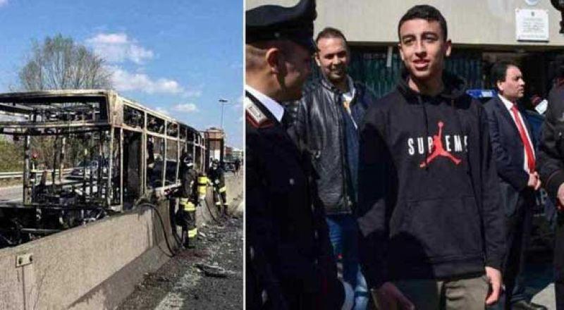 طفل مصري ينقذ 51 تلميذًا إيطاليًا من الموت حرقًا