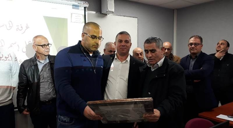 سخنين: افتتاح غرفة حاسوب في ثانويّة جمال طربيه