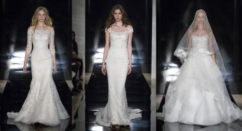 فساتين زفاف 2017 للمصممة اللبنانية ريم عكرا