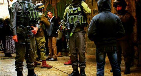 اعتقالات تطال 24 فلسطينيًأ بينهم طلبة