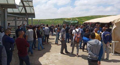 المصادقة على دخول 80 ألف عامل فلسطيني إلى إسرائيل