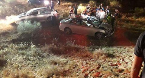 النقب: حادث طرق بين سيارة خصوصية وجمل، ومصرع شخص