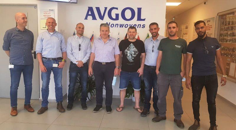 اتفاقية عمل جماعية اولى في مصنع افجول في ديمونا