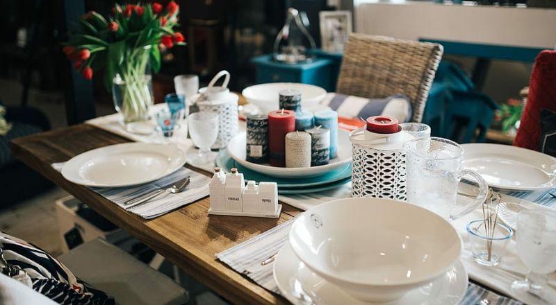 أفكار ترتيب طاولة الاستقبال لعيد الفطر