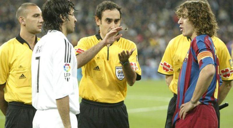 حكم إسباني سابق: 90% من الحكام يشجعون ريال مدريد و10% برشلونة!