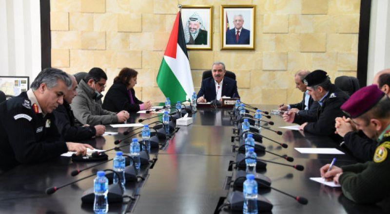 الحكومة الفلسطينية تبلغ إسرائيل رسمياً وقف التنسيق الأمني