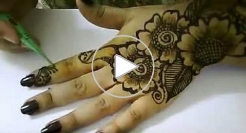 بالفيديو: أجمل نقوش الحناء على يديكِ