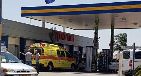 العفولة: سطو على محطة وقود .. وطعن شاب في شجار
