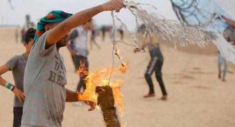 شركة إسرائيلية تخترع سلاحاً لمواجهة الطائرات الورقية الحارقة