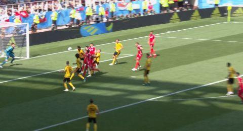 مونديال 2018: 3 -1 لبلجيكا في نهاية الشوط الأول