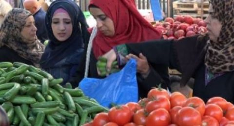أسباب ارتفاع أسعار الخضار والفواكه في الأسواق الفلسطينية