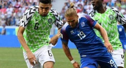 نيجيريا تفوز على ايسلندا وتعيد الامل للارجنتين