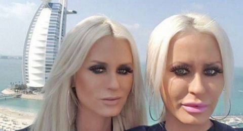 نجمتا أفلام إباحية اعتديتا بالضرب على شرطي في دبي وشتمتا النساء العربيات