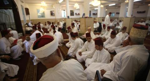 بالصور: السامريون في نابلس يحيون رأس السنة العبرية
