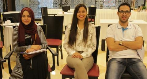 مركز إعلام ينظّم ورشات مكّثفة في رام الله لمشروع القيادة وفنّ الخطابة والمُناظرة