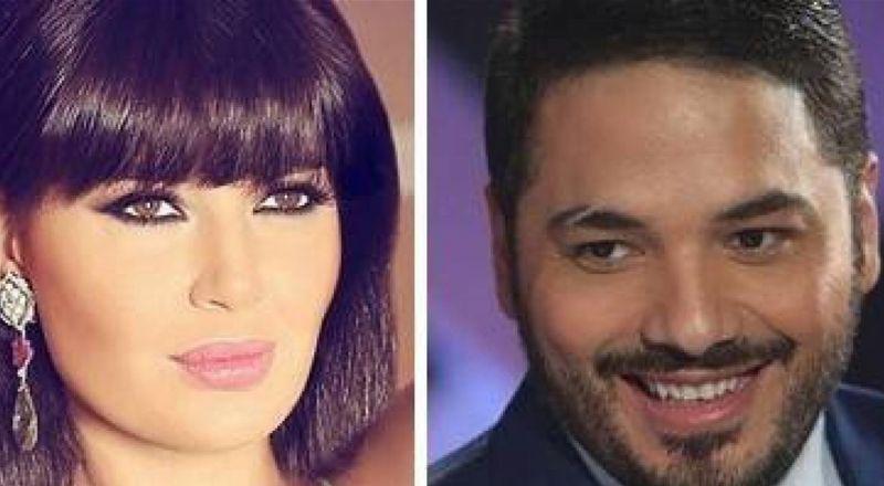 سيرين عبد النور ورامي عياش في مسلسل واحد