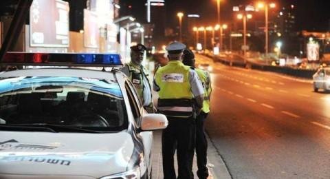 ضبط الشرطة 86 سائقًا يقودون سياراتهم تحت تأثير الكحول