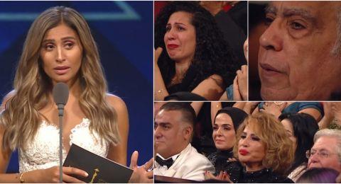 مهرجان القاهرة السينمائي يبكي على  هيثم أحمد زكي.. ودينا الشربيني تحبس دموعها!