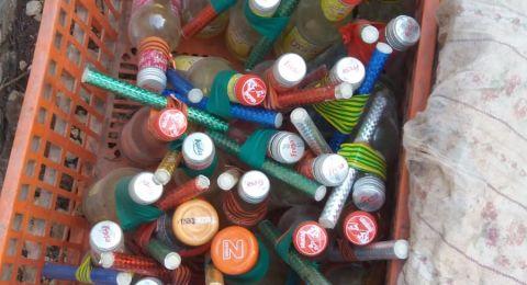 طرعان: العثور على زجاجات حارقة في المقبرة المسيحية