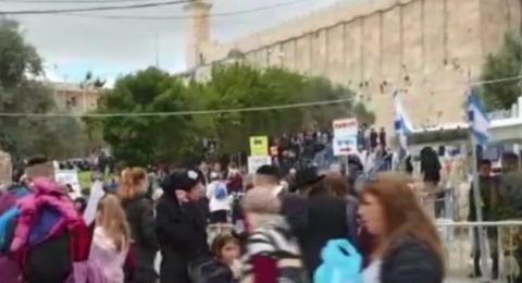 رفض فلسطيني لتغيير معالم الحرم الابراهيمي