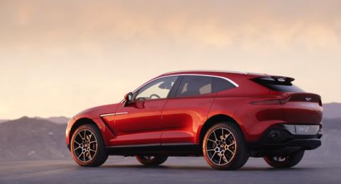 أستون مارتن تكشف عن واحدة من أكثر السيارات أناقة ورفاهية